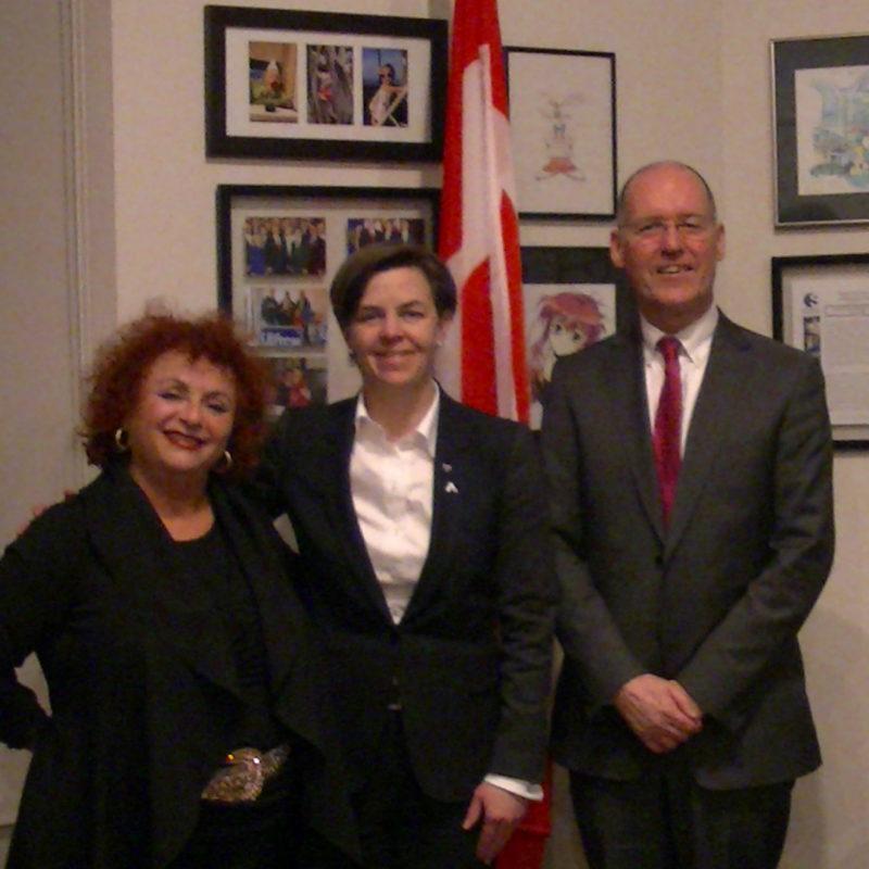 Lili Fournier & Canadian Minister