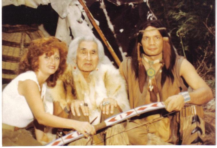Lili Fournier & Chief Dan George