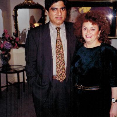 Lili Fournier & Deepak Chopra