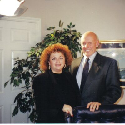Lili Fournier & Stephen Covey