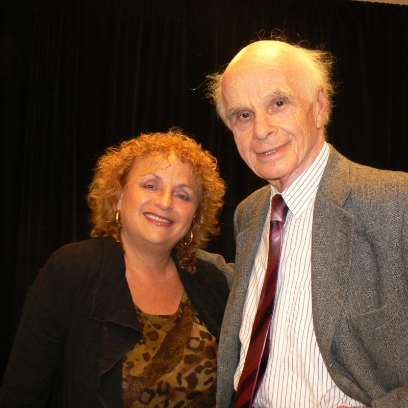 Lili Fournier and Ervin László
