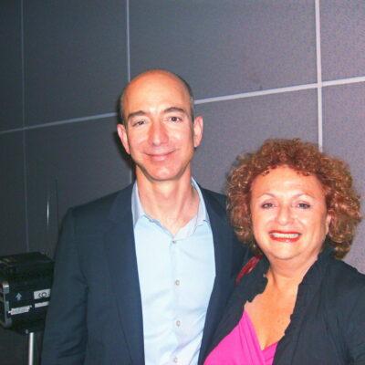 Lili Fournier and Jeff Bezos