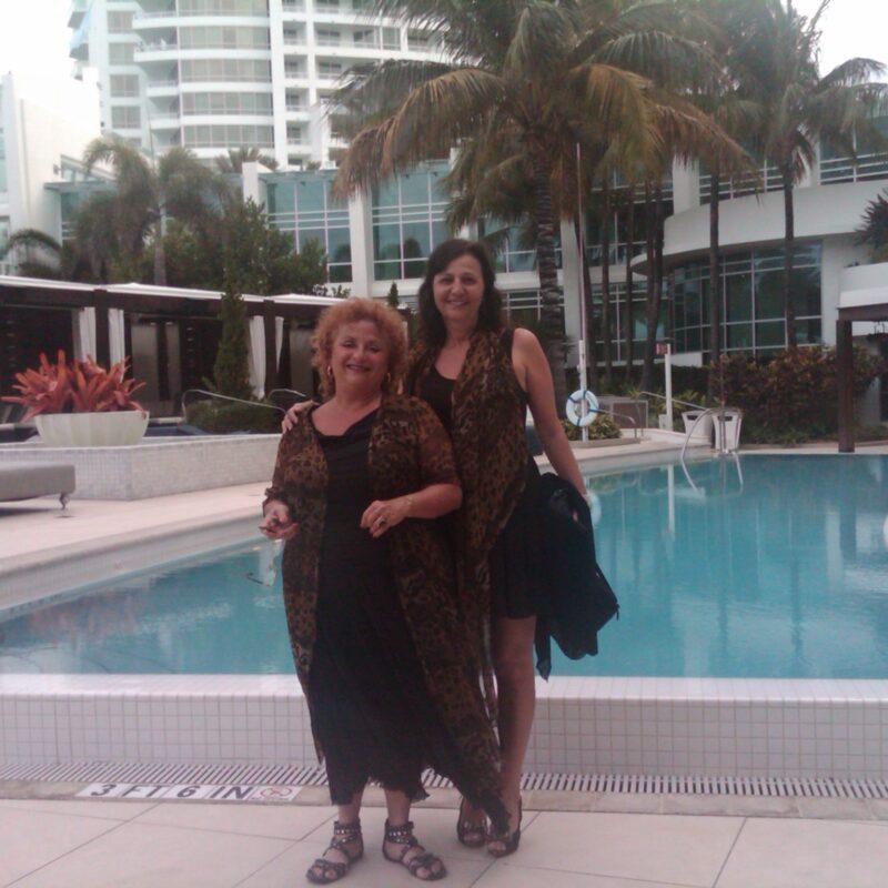Lili Fournier and Martha