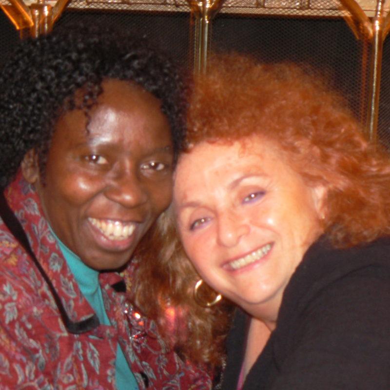 Lili Fournier and Musimbi Kanyoro