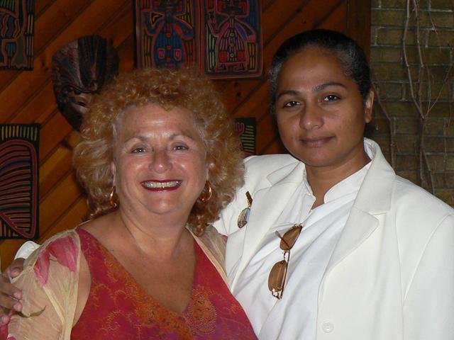 Lili Fournier and Sister Jenna