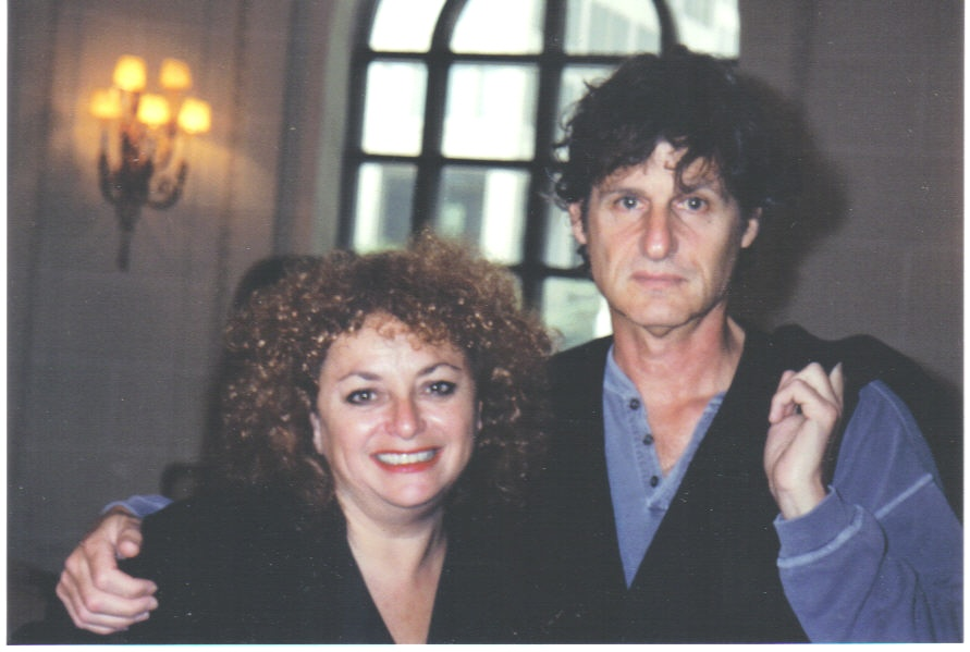 Lili Fournier and Zalman King