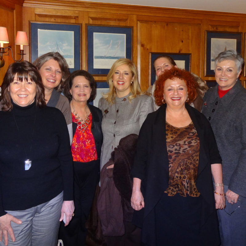Lili Fournier hosting women leaders