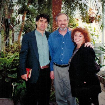 Lili Fournier with Thomas Moore & David Whyte