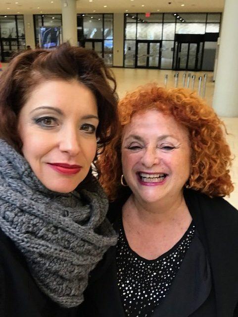 Lili Fournier and Carolina Fonseca