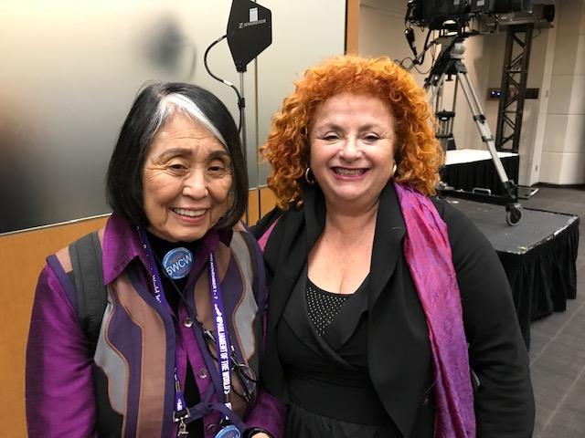 Lili Fournier and Dr. Jean Shinoda Bolen