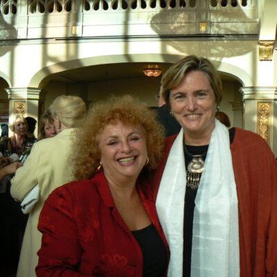 Lili Fournier with Susan Davis
