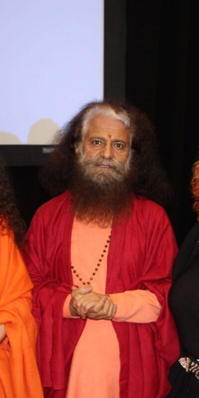 Lili Fournier, Swami Chidanand Saraswati and Sadhvi Bhagawatiji